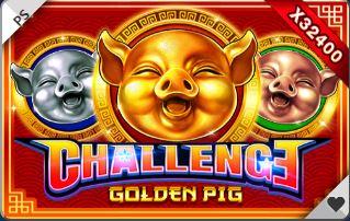 รีวิวเกมสล็อตทดลองเล่นฟรี Challenge Golden Pig